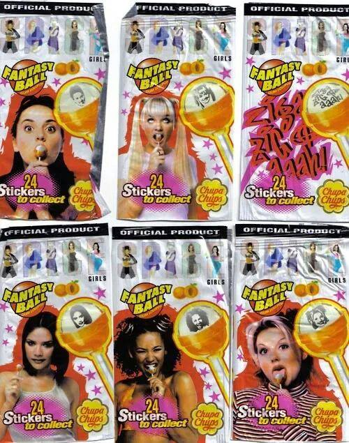 The best things the 90's had were the Spice Girls lollipops