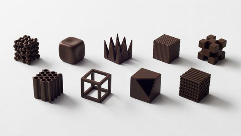 Nendo is producing a collection of textured chocolates for Maison&Objet - take a look:  #... http://t.co/Vp8B6KgvlX http://t.co/VEbv3bJu09
