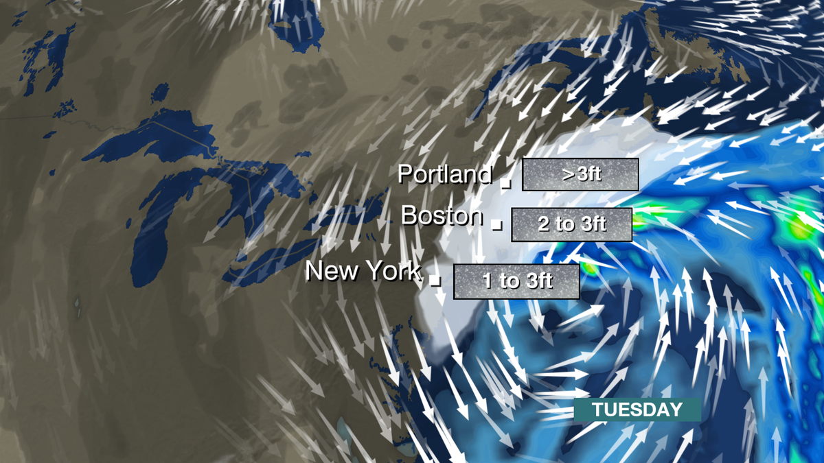 BBC Weather On Twitter A Huge Snowstorm For The Northeast US - Nyc bbc weather