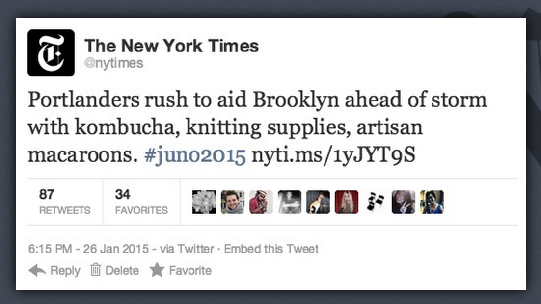 See? We care. #juno2015 http://t.co/NnQVQ7jUWZ