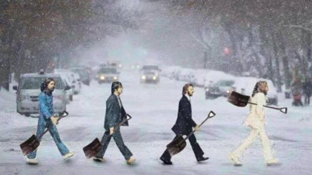 The Beatles Polska: Ringo dodaje otuchy mieszkańcom Nowego Jorku