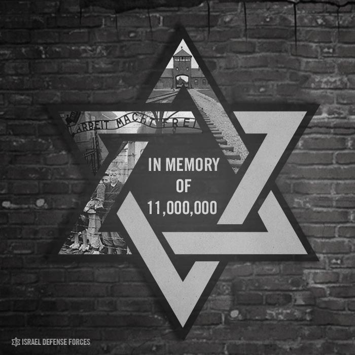 Today,#HolocaustMemorialDay, the world bows its head in memory of 11 million lives lost. http://t.co/6EwXW0m3aA