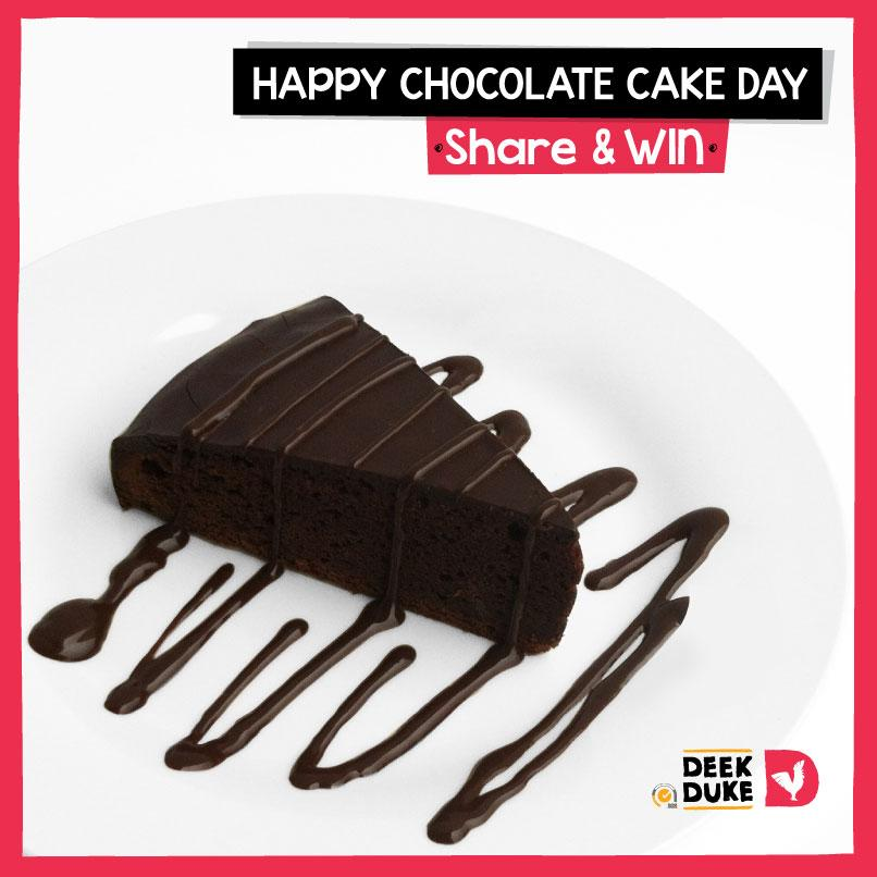 Hurray! Happy #ChocolateCakeDay!  RT this and you may be winning yourself a slice of our #Chocomania! #Competition http://t.co/5TVz2Xh2RF