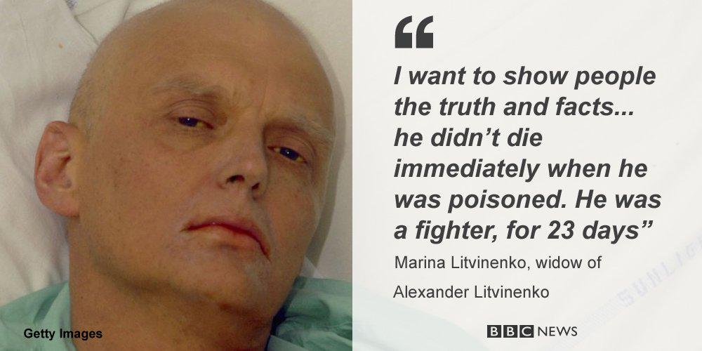 Alexander #Litvinenko's widow vows to find truth as UK inquiry opens - hear #r4today interview http://t.co/dnDtbk7hgq http://t.co/PFWFU3i7jb