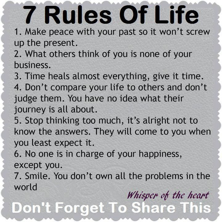 Hotel Sogo Official On Twitter Read The 7 Rules Of Life Choose