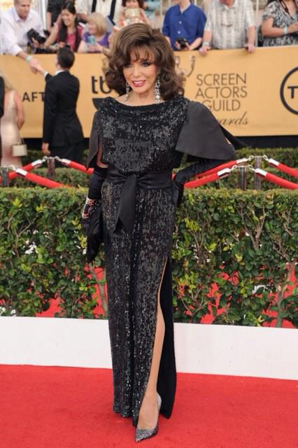 My lord...thank you @e_FashionPolice!!! What an unexpected and thrilling honour to be given best dressed @SAGawards! http://t.co/YbdHzADBH4