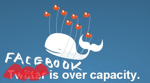 Facebook Fail Whale (ahhhh... that brings back old times) #facebookdown http://t.co/o5j5vUjcxL