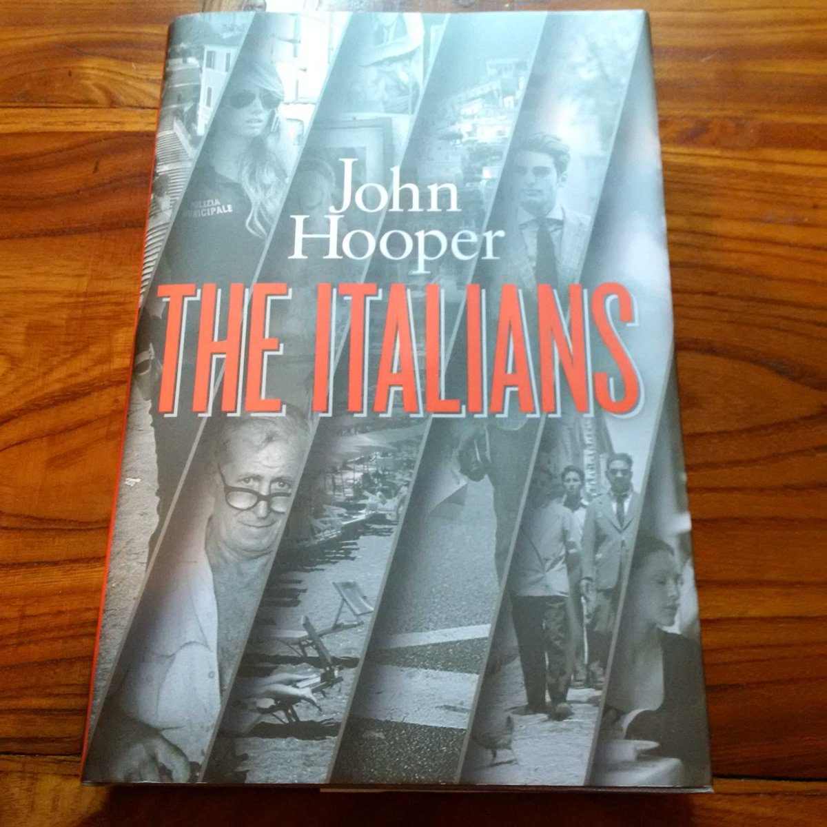 Out Thursday, I now have a copy of John Hooper's new book The Italians - all about sublime and exasperating Italy. http://t.co/Q61TRjbxdM