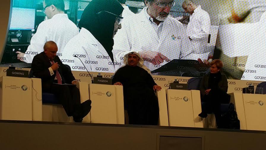 الآن حوار حول التوظيف مع @adelmfakeih وزير العمل السعودي وفيدريكاجويدي @MinSviluppo   وزيرةالتنمية الإيطالية #GCF2015 http://t.co/viD7RZSraQ