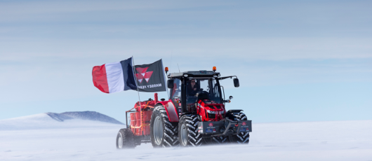 Campaign of the month: Massey Ferguson's Antarctic expedition demonstrates its tractors' power http://t.co/Uyr3ZJfB5U http://t.co/IJ2SxpYi4U