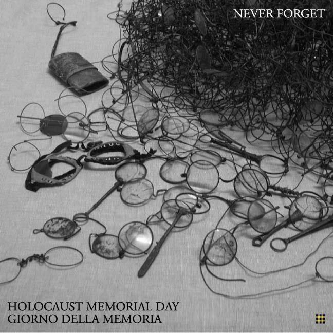 #neverforget #HolocaustMemorialDay #giornatadellamemoria http://t.co/JflwNC1Utp