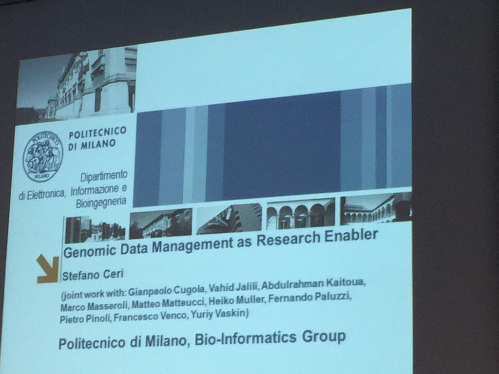 @stefanoceri talks about #genomiccomputing @polimi PhD course on #bigdata http://t.co/Eyxh4sSMRX