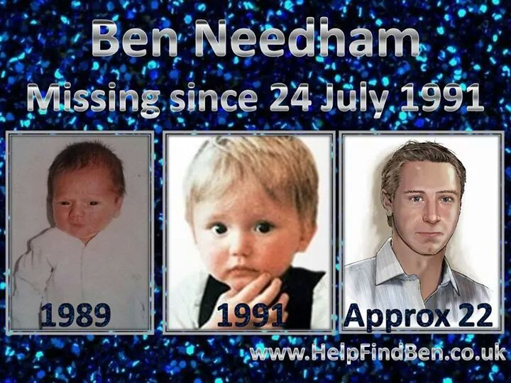 @msm4rsh Were going 4 a MILLION views on this poster of missing Ben Needham abducted in 1991 age 21month Pls RT x http://t.co/UalyMHDk42