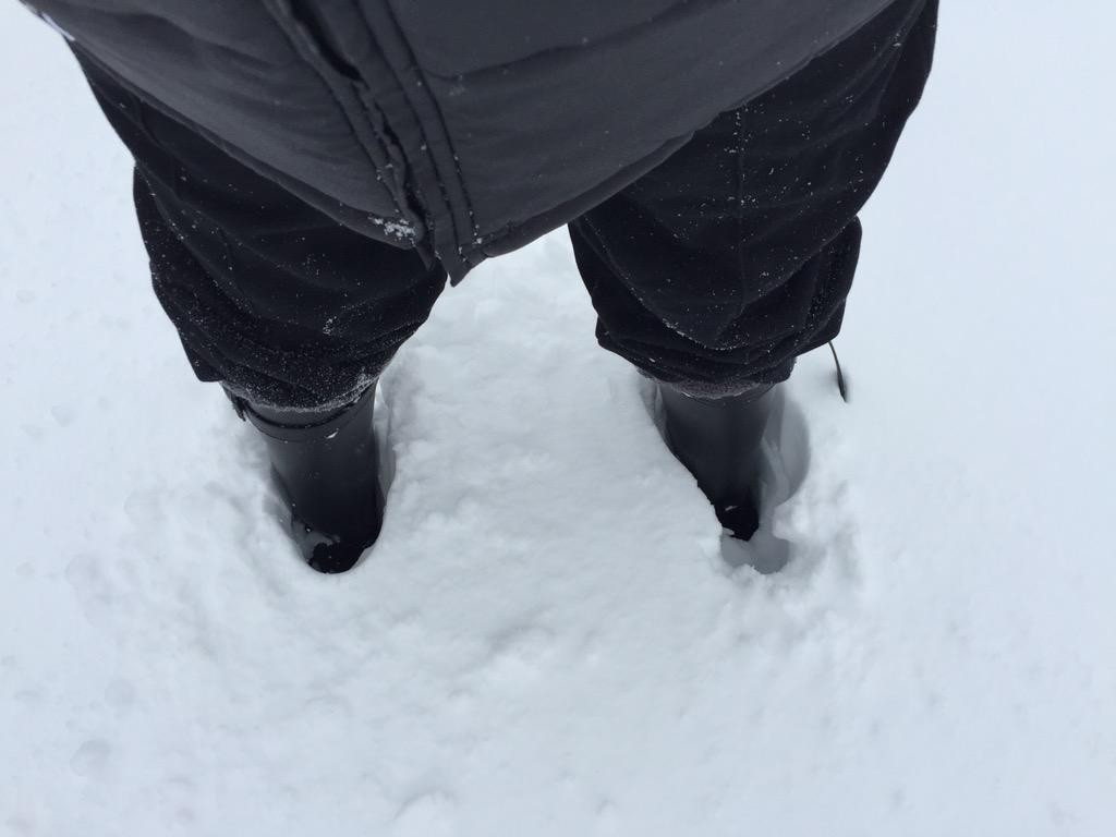 My boots buried in the snow! #epicsnowstorm http://t.co/SVvzs8ArEO