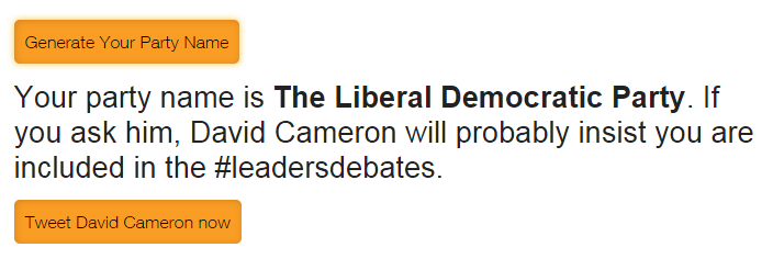 tom hamilton on twitter this lib dem minor party name generator