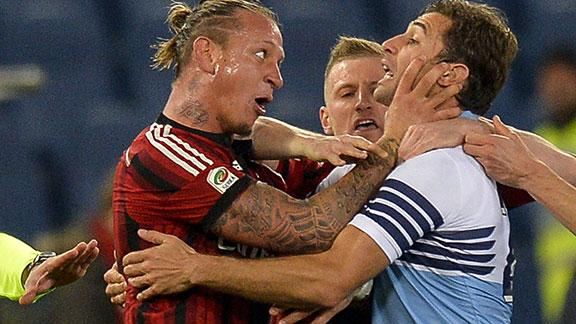 Serie A: Mexes squalificato 4 giornate, salta Juventus-Milan del 7 febbraio