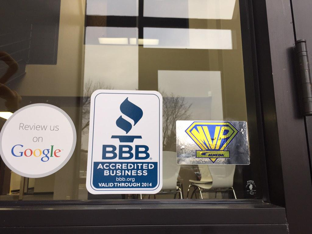 Just put up our new 2015 @MHEDAOffice MVP sticker. Woot Woot http://t.co/pUExXbbbrS