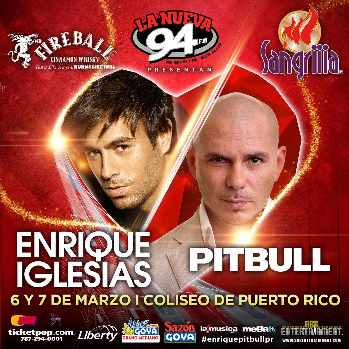 ¿Todavía sin boletos para @enrique305 + @Pitbull? ¡Qué esperas! http://t.co/YsH32rwB2W #EnriquePitbullPR http://t.co/RfxOxxWEHa