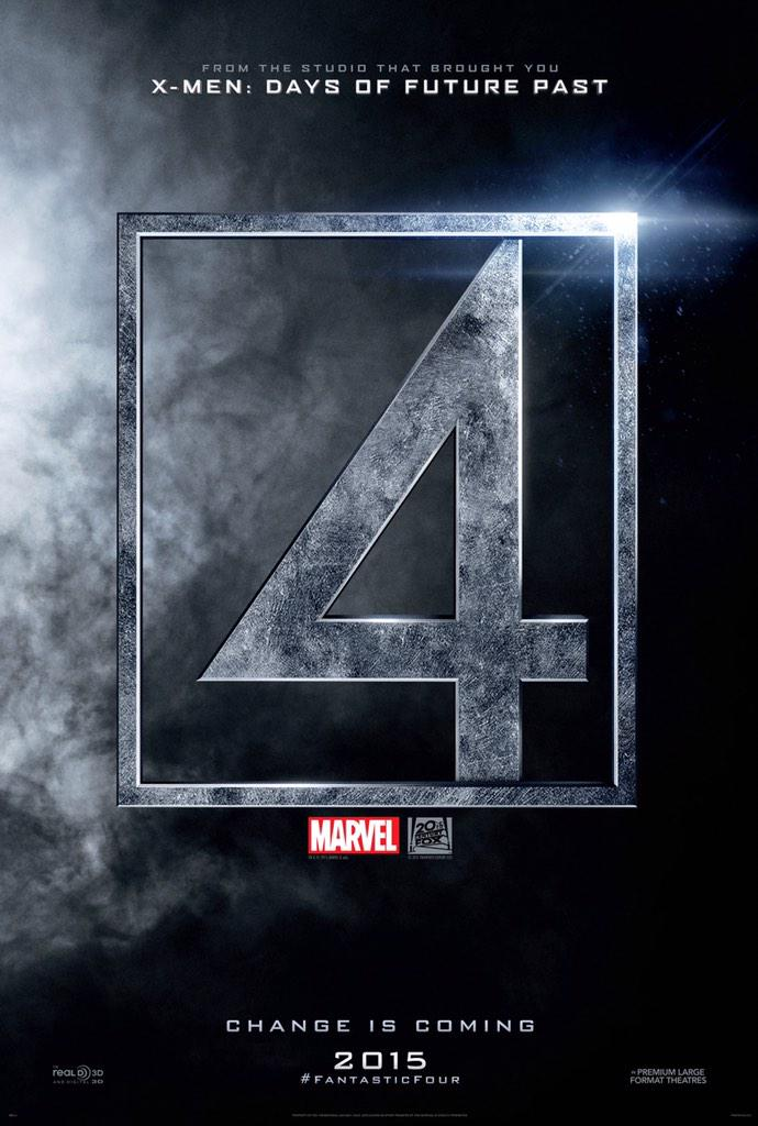 Change is coming #FantasticFour http://t.co/9rBR4cCW76
