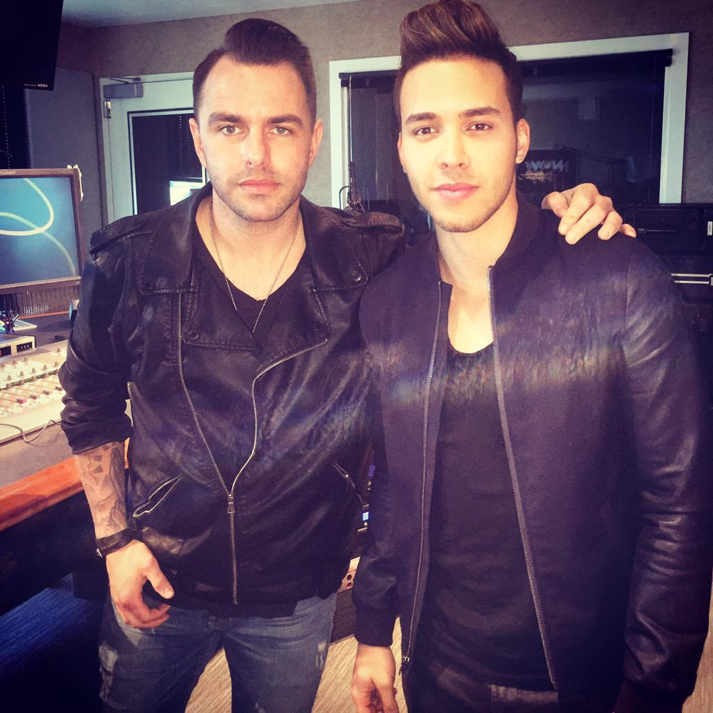Good hangin w/ @PrinceRoyce , I'm genuinely excited to hear his album! Very nice guy & so talented #stuckonafeeling http://t.co/Zrx1QrPJMr