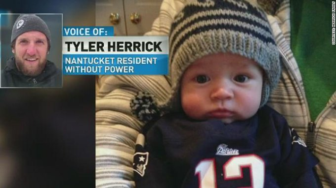 RT @TheLeadCNN: Nantucket family with newborn struggles without power http://t.co/66e5WEkKYy #TheLead