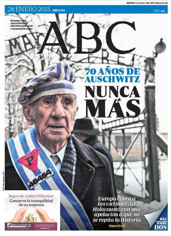 70 aniversario de la liberación de Auschwitz B8ZFF6MIYAA-KwC