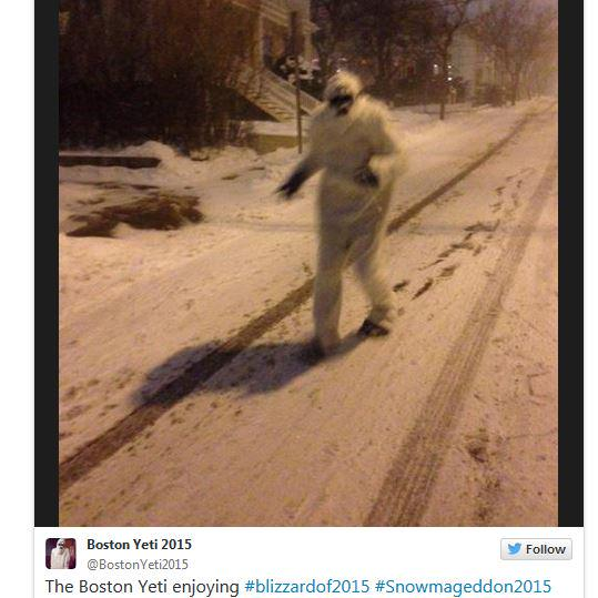 "This morning, there was a lot hubbub over a ""Yeti"" in Boston - http://t.co/ti6A2K7GE2 #fox25blizzard #blizzardof2015 http://t.co/RSg7qiTFtu"