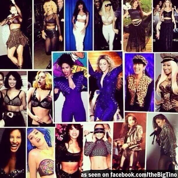 Of course...SELENA did it first! #Selena #SelenaForever #SelenaVive #SelenaQuintanilla #thebigtino http://t.co/NeS0VYeBQp