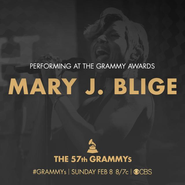 Nine-time GRAMMY winner and nominee @MaryJBlige set to duet with #SamSmith this Sunday on the #GRAMMYs! http://t.co/AsSOsKi93i