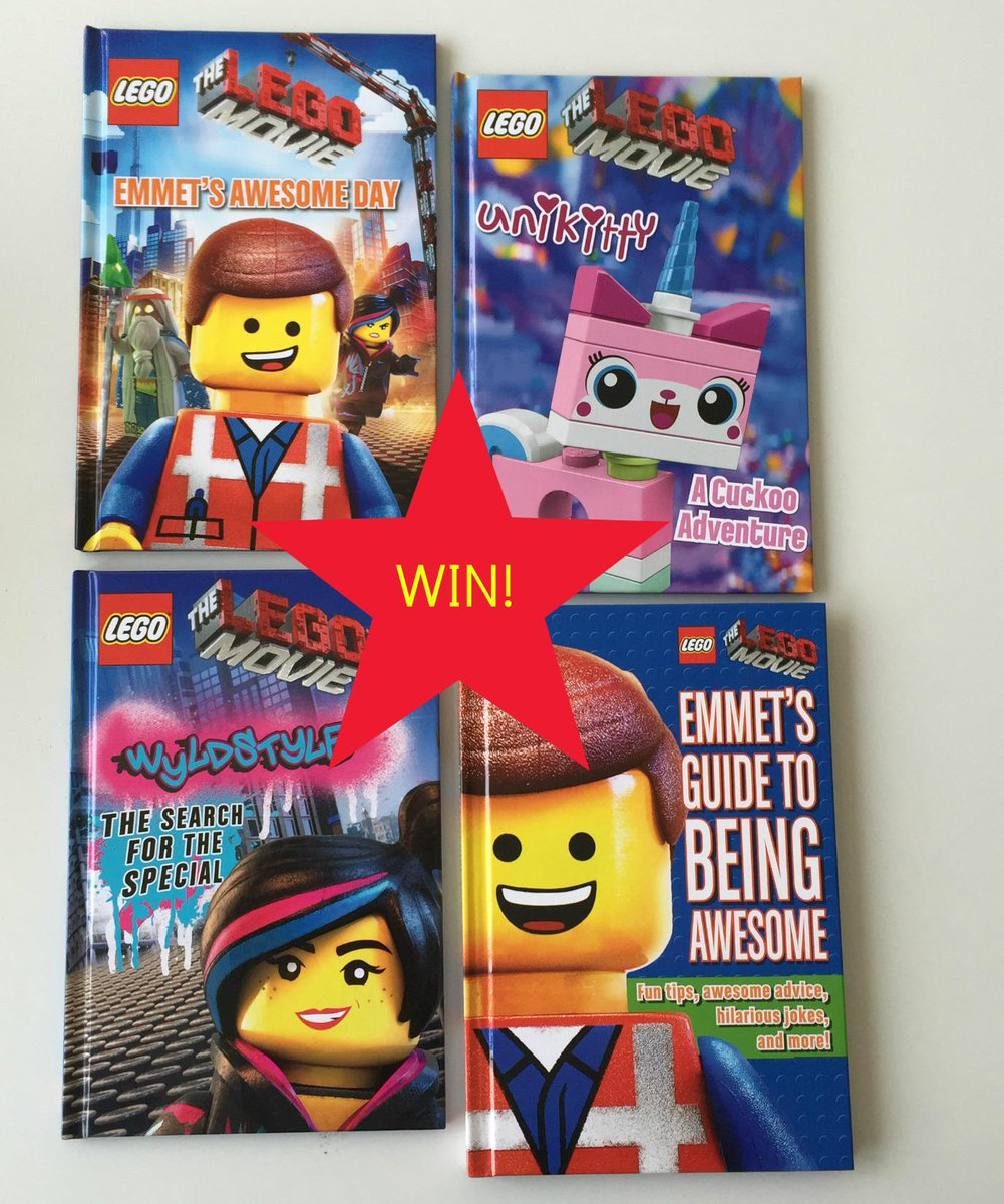 Get your hands on this set of brilliant #LEGO movie books! Just RT by 5pm on 6/01/15 for your chance to win. http://t.co/jkua74VxTa