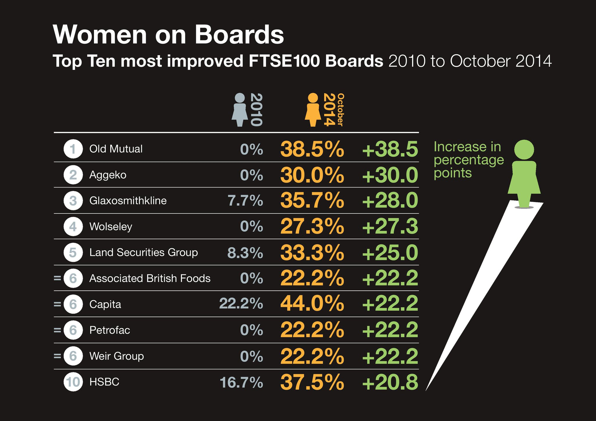 ftse100 board infographic