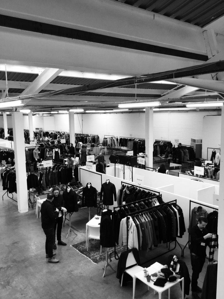 And the doors are open. Jacket Required AW15 Day 1. A huge welcome to everyone exhibiting and visiting. #JRAW15 http://t.co/dfTtVCOqHW