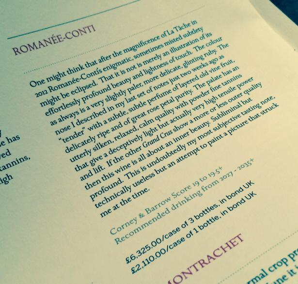 DRC Romanée-Conti multibuy! £2,110 per bottle or buy 3 for £6,325 = £2108.33 each. SAVE £1.67 PER BOTTLE! http://t.co/njfiIYiVYf