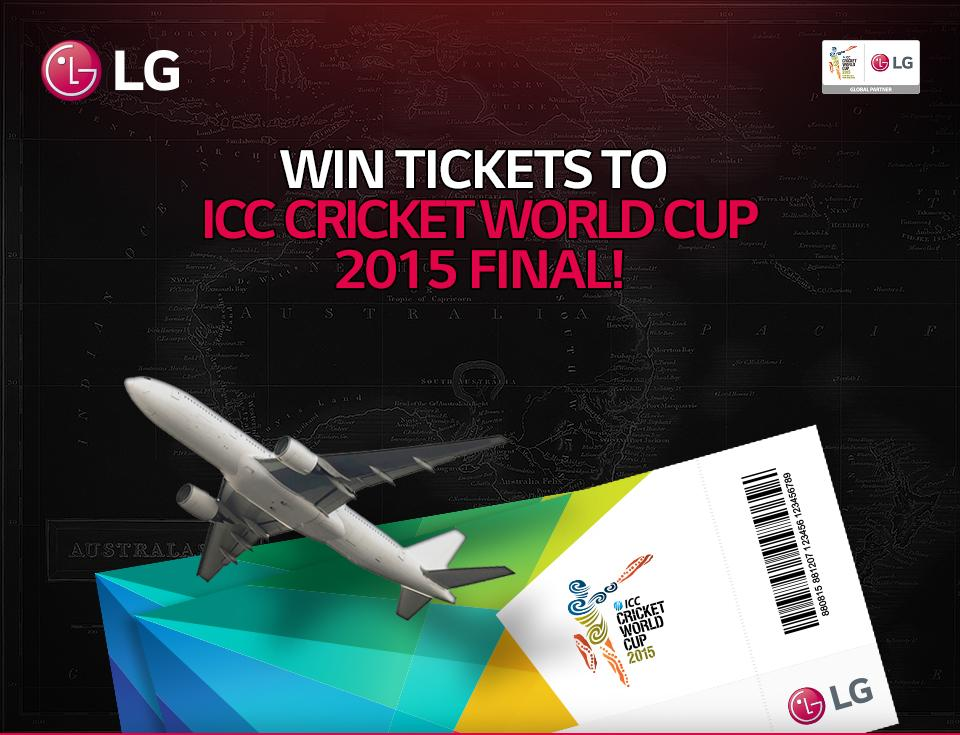 #LG100GreatestFans is approaching last 2 weeks! Grab the chance & show ur passion for #CWC15: http://t.co/P9NqqEDuji http://t.co/PF505ahFRJ