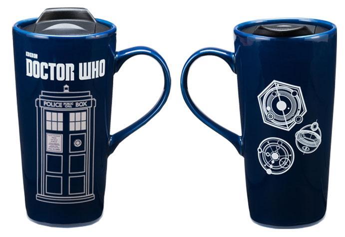 Doctor Who Tardis  Oz Travel Mug