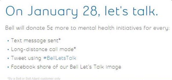 I never ask for an RT. Except now. Today, let's end the stigma around #mentalillness. #BellLetsTalk http://t.co/fainVqaAi5