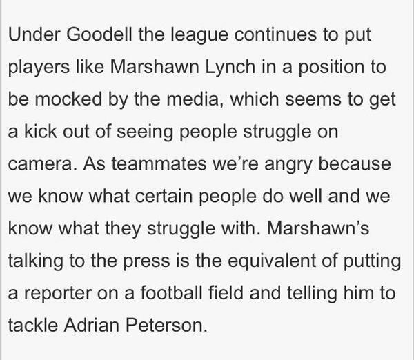Great statement by @RSherman_25 http://t.co/isKdMIPsrT