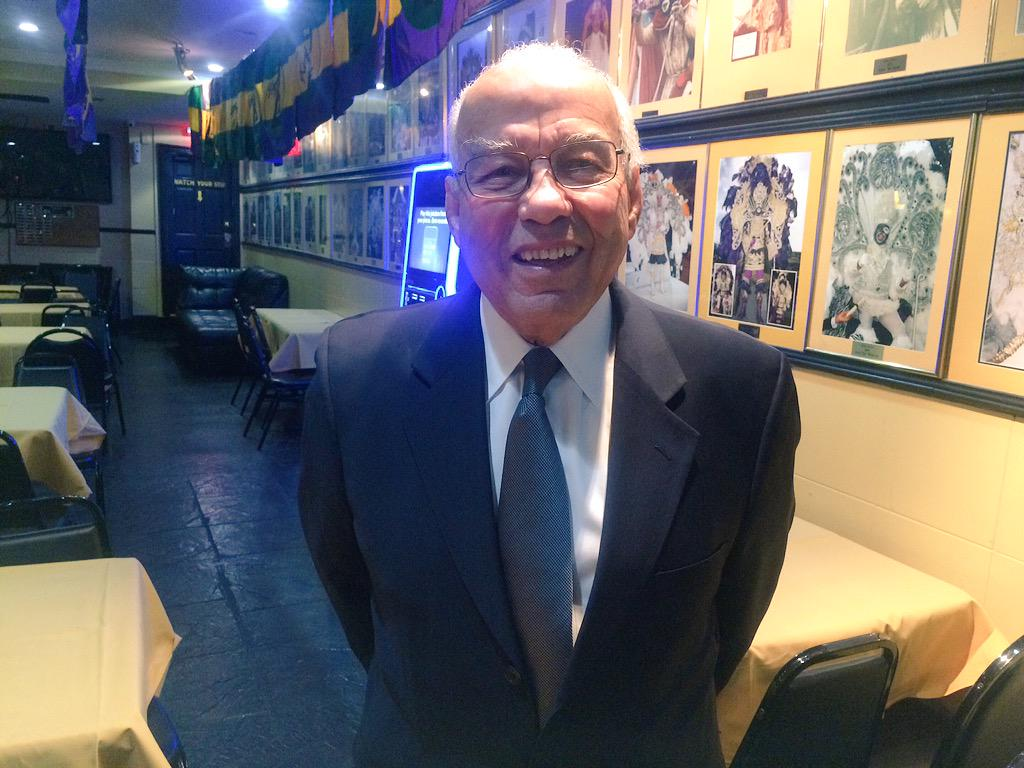 #BREAKING Dr. Norman Francis named Zulu Grand Marshal for 2015 http://t.co/hLGxn0B66N