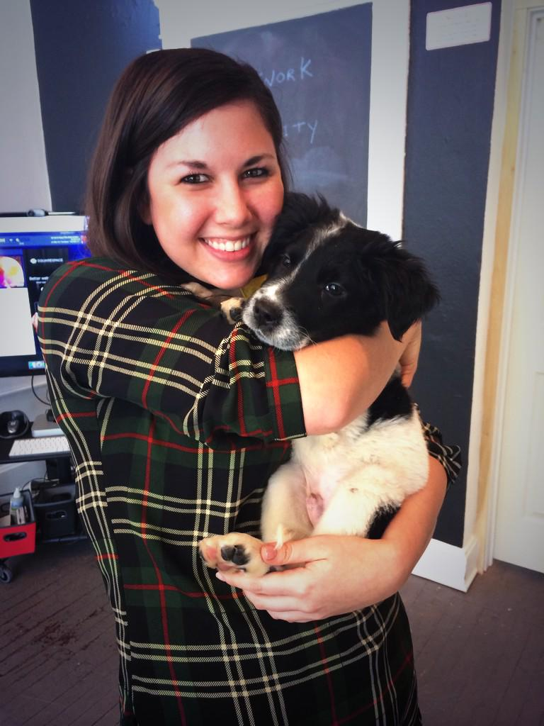 "RT ""@andriatriv: Puppies at the office just happened. @Jane_Fri @JasonBuffin #UberPuppyBowl @AnimalPlanet @Uber_OHIO http://t.co/20Iuz8otjo"""