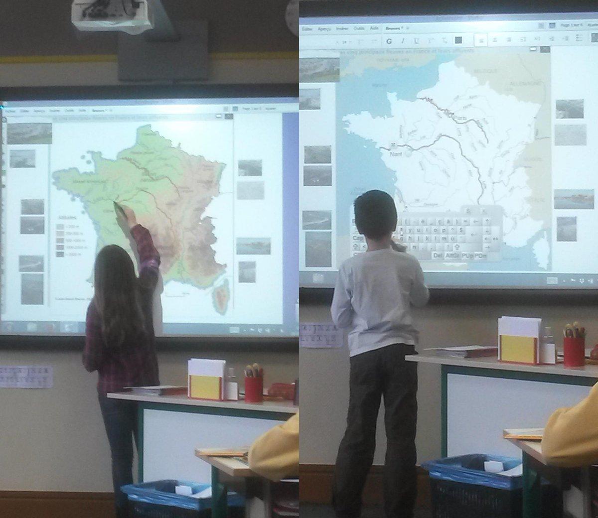 #forumatice Carignan : Mme Raymond a reçu des élus de la municipalité pour une petite leçon de géographie sur TNi http://t.co/ZXPqGnbGJ2