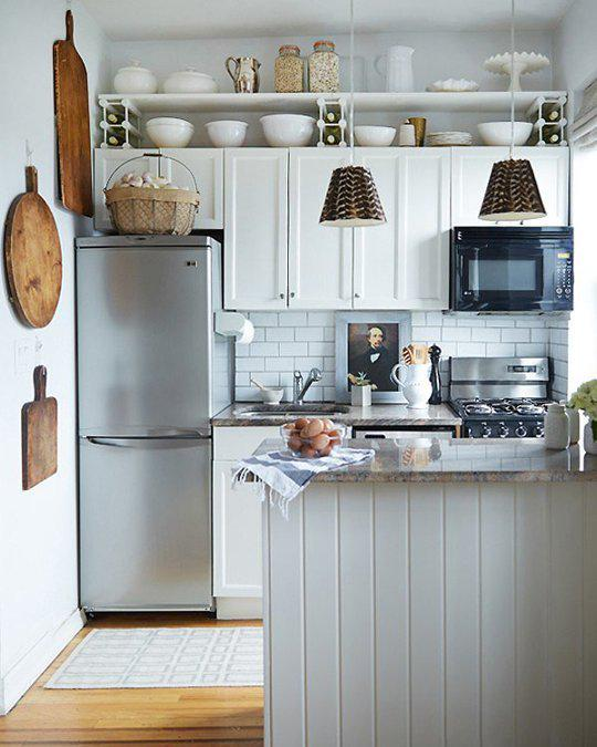 Apartment Therapy On Twitter Small Kitchen Storage Solution Hang A Shelf Above The Cabinets Kitchn Http T Co Taz7cmjdxd N1pv7xptq8