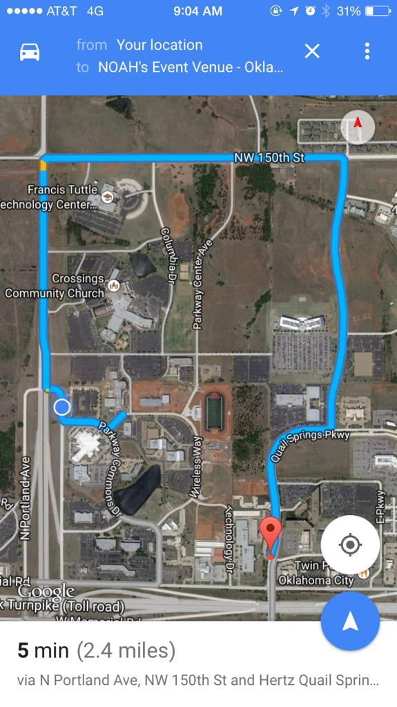 Definition of suburban planning: having to drive 2.4 miles to reach location 500 feet away http://t.co/W8vJecGPLv
