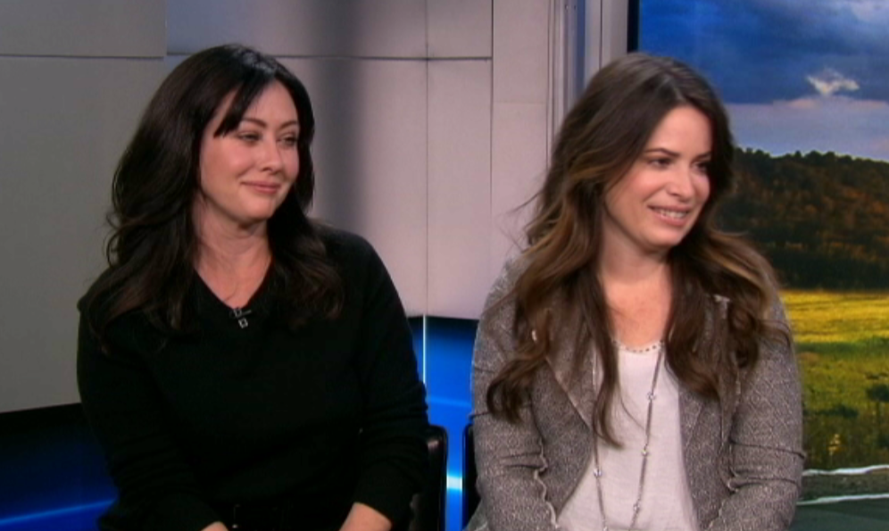 .@ShannenDoherty & @H_Combs talk #OffTheMap, their longtime friendship & more. WATCH: http://t.co/DWrgtWMJOM http://t.co/Uho2Lyve5y