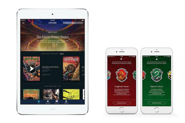 Bored at Platform 9¾? Oyster just added the entire Harry Potter series to its catalogue! http://t.co/BRpcOYmqm4 http://t.co/Ms5LqHcimW
