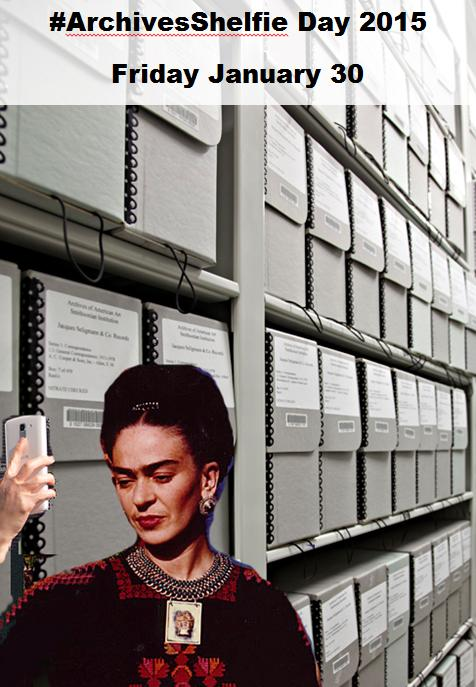 We declare this Friday (Jan. 30) #ArchivesShelfie Day! Snap a shelfie and tweet it! http://t.co/OD2I0RuU7H