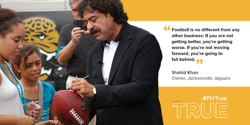 Running an #NFL team is like any other business says @Jaguars' owner Khan (client) in #FHTrue: http://t.co/r88Kv3Ban9 http://t.co/DtfetozJbq