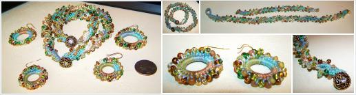 #Festive Colorful Beaded #Necklace #Bracelet #Earring Set #Handmade #Jewelry @TXGulfCoastShop https://t.co/kHm01LZPbK http://t.co/Hbp1culCn4