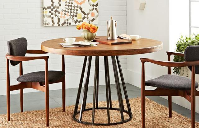 Dining room tables suited for every design style from @WestElm @DWR_Tweets @casadotcom & more http://t.co/JrY4w8CdvA http://t.co/pZAB5yiN2a