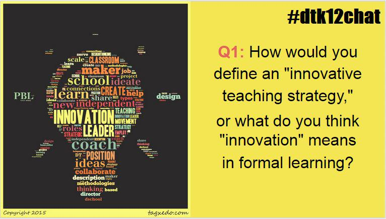 Let's get started with our 1st question. Please use A1 with your replies! #dtk12chat http://t.co/Ax5Eiqsahv