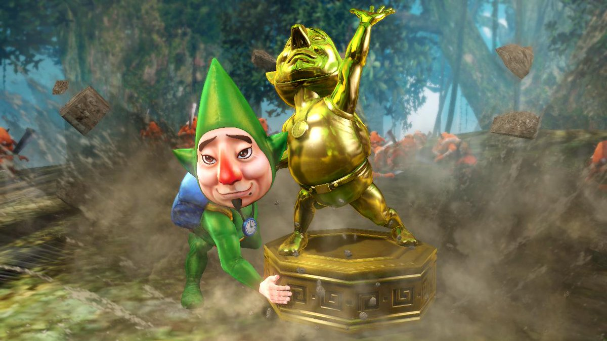 Hyrule Warriors 1.5.0 Majora's Mask DLC Tingle